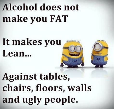cartoon drinking alcohol top most 31 funny minions quote pictures diys
