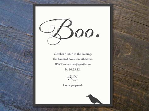 halloween invitation templates  festival collections