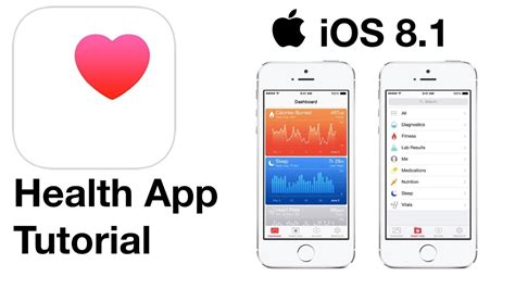 ios 8 health app tutorial