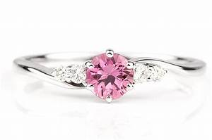 photo of the day pink sapphire diamond ring With pink sapphire wedding rings