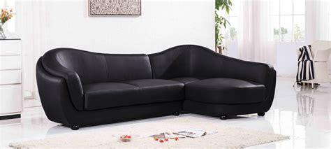 canapé noir canapé d 39 angle 4 places a prix cassé en cuir