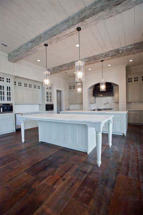 white washed beams   totally
