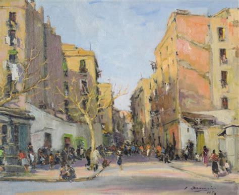 Barcelona At Sunset (1954) | 726000 | Sellingantiques.co.uk