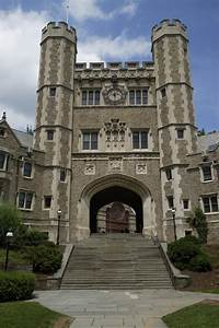 Princeton University, USA stock image. Image of dorm ...