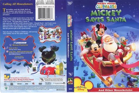 Mickey Saves Santa And Other