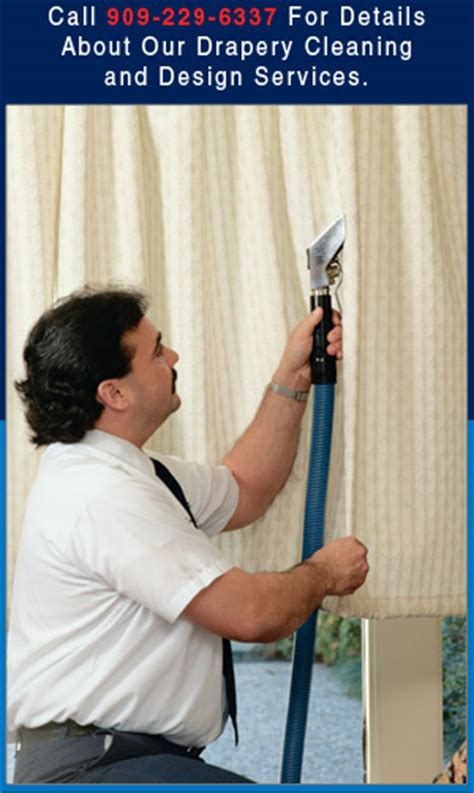 drapery cleaning near upland ca by doctor steam drapery