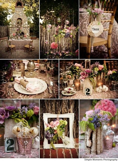 Enchanted Forest Inspired Wedding Decorations Design