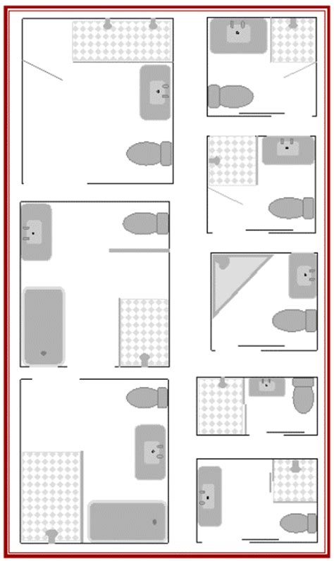 bathroom floor plan layout bathroom layouts to enhance kit house plans