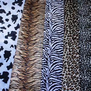 animal print wool valboa fabric zebra stripe leopard fur