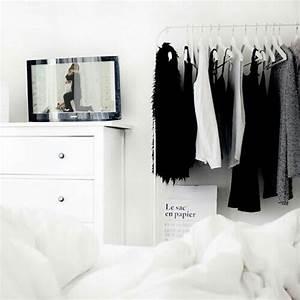 black white, room, inspiration, tumblr, goals, bedroom ...