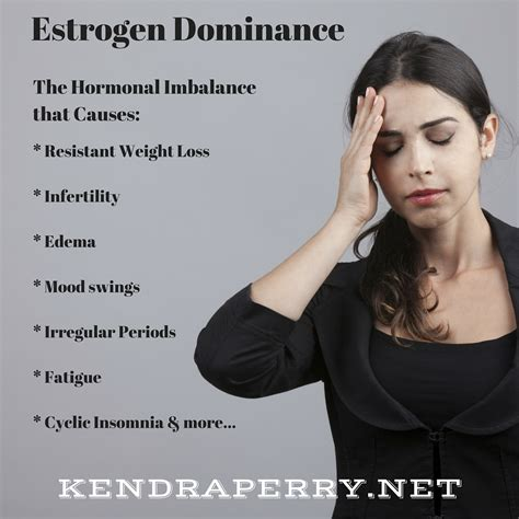 Estrogen Dominance The Hormonal Condition That Causes