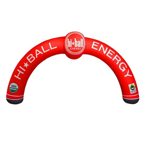 inflatable arch entrance   shape air balloon gate
