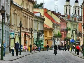 Old Town Vilnius Lithuania