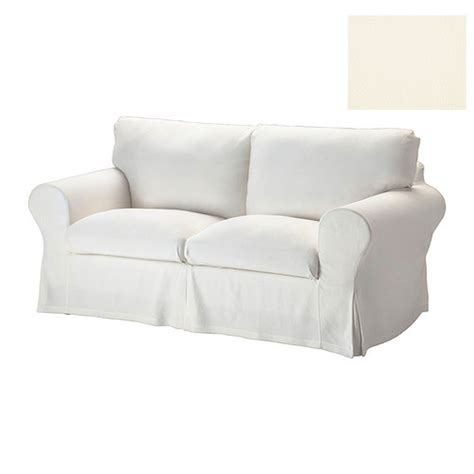 white slip covered sofa ikea ektorp 2 seat sofa slipcover loveseat cover stenasa