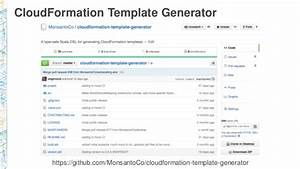 arc401 cloud first new architecture for new infrastructure With cloudformation template generator