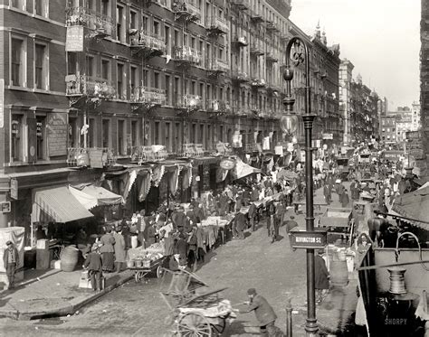 New York Circa 1909 The Ghetto Lower East Side 8x10