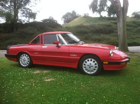 Purchase Used 1988 Alfa Romeo Spider Quadrifoglio