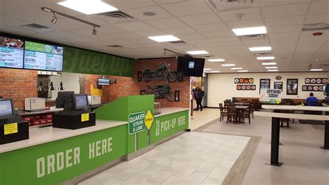 cuisine lube quaker steak lube express opens at ta in gary