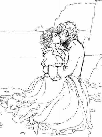 Coloring Kissing Oohlala Deviantart Drawings Stats Designlooter