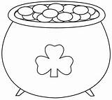 Coloring St Pages Patricks Patrick Printable Bigactivities Crafts Gold Pot March sketch template