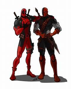 Deadpool and Deathstroke by Ferroconcrete247 on DeviantArt