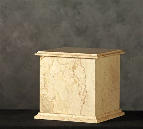 roquemore marble and granite rectangle marble cremation urns