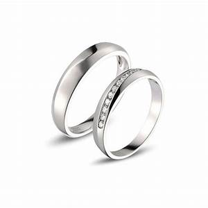 Affordable Diamond Couple Wedding Bands For Him And Her
