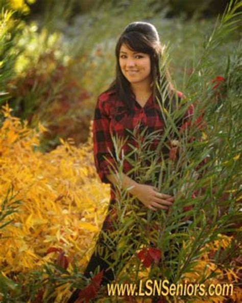 the lsn studios photography senior in the fall colors