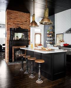 deco cuisine bistrot 12 idees deco cote maison With kitchen cabinet trends 2018 combined with meuble rangement papiers
