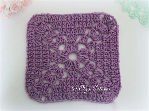 crochet squares lacy crochet simple crochet square free pattern