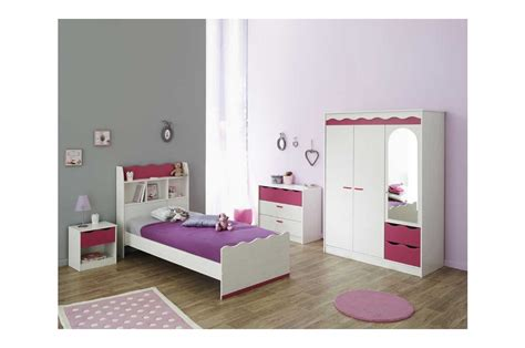 chambre coucher chambre à coucher enfant complète pin lasuré blanc et