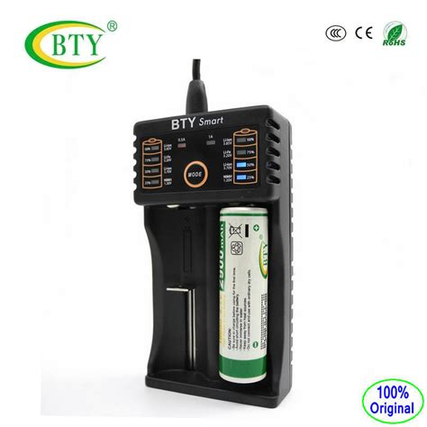 bty v202 ni mh ni li ion battery charger smart fast charge aa aaa 18650 16340 14500 battery