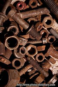 Scrap, Metal, Waste, -, Photo, Picture, Definition, At, Photo, Dictionary