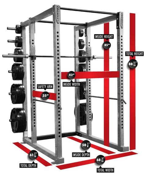 legend fitness power cage  cff strength equipment cff fit