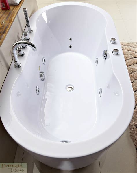 Jetted Tub by Decorate With Bathtub Freestanding Whirlpool