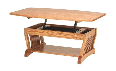 Amish Royal Mission Lift Top Coffee Table