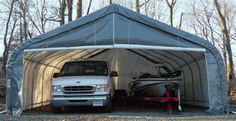 garage größe für 2 autos rhino shelter instant 2 car garage 22 x 24 x 12