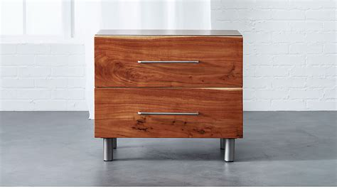 Cb2 Nightstand by Junction Low Nightstand Cb2