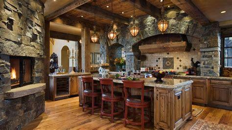 Stone Kitchen Interior Decoration Ideas  Small Design