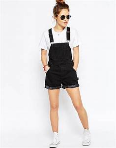 Best 25+ Overall shorts ideas on Pinterest | Overall shorts outfit Denim overalls and tumblr ...