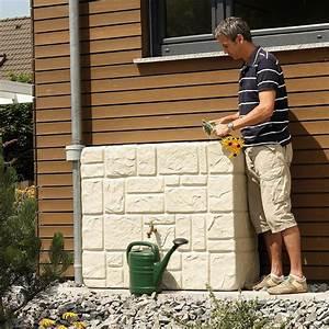 Recuperateur Eau De Pluie Mural : r cup rateur d 39 eau de pluie garantia brick 300l achat ~ Dailycaller-alerts.com Idées de Décoration