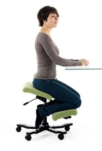 kneeling computer chair posture knee appointment chairs