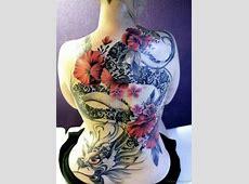 Tatouage Dragon Japonais Dos Femme Tattoo Art
