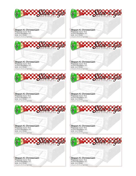 Business Card Template For Avery 8871 - Cards Design Templates