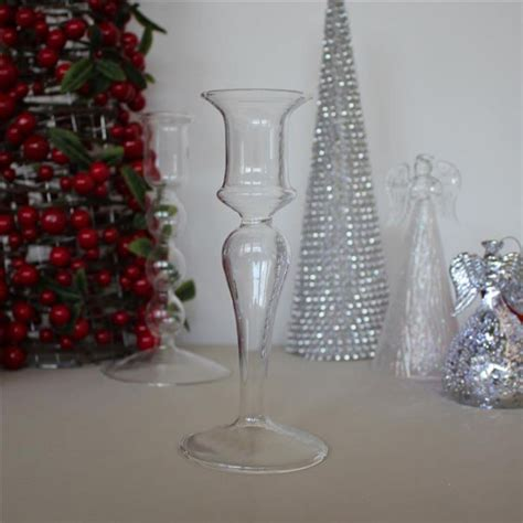 Small Glass Candle Stick Holders by Tyrian Glass Candle Stick Holder Small