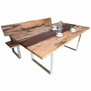 Sitzbank Holz Mit Lehne : sitzbank aus holz mit lehne in edelholz design optik ~ Buech-reservation.com Haus und Dekorationen
