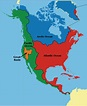 Geography for Kids: North American - flags, maps ...