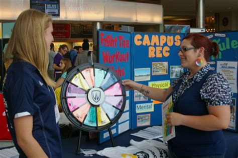 health fair full  giveaways  takeaways  students