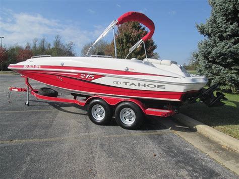 Tahoe Boats Pontoon by Tahoe Deck Boat Wakeboard Tritoon Pontoon Fishing