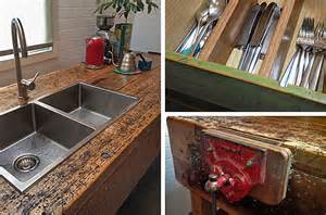 chopping block kitchen island the junk map upcycled industrial fittings in a stylish